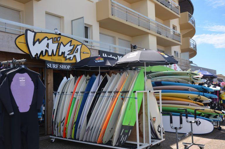 École de surf et surfshop Waïmea à Anglet