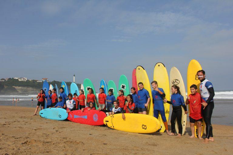 École de surf à Anglet