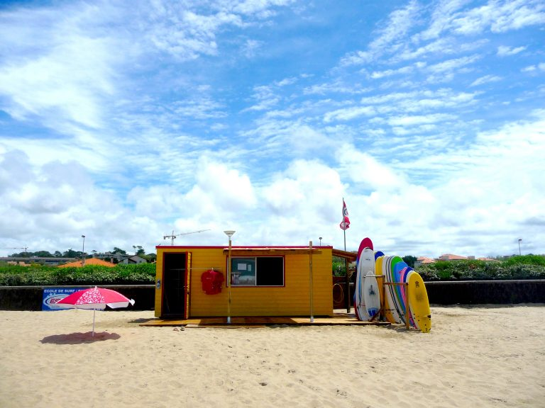 Ecole de surf à Anglet