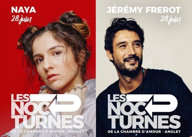 Affiches de Nocturnes de la Chambre d'Amour : Naya et Jérémy Frérot
