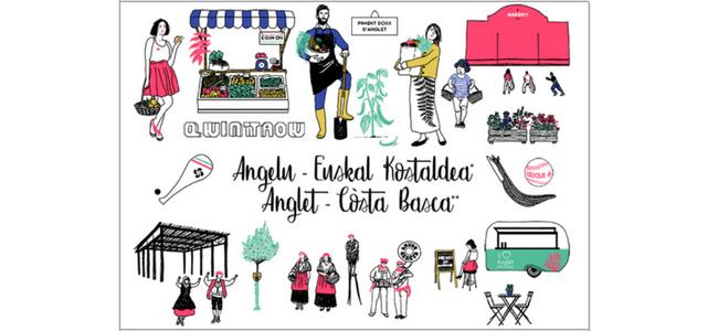 carte-postale-angelu-cote-basque