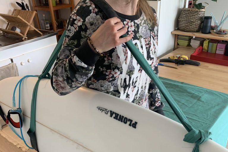 TUTO ECOLO #3 SANGLE DE TRANSPORT POUR PLANCHE DE SURF DIY