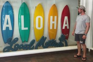 PIERRO COUTANT À LA CONQUÊTE D'HAWAII !